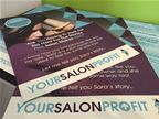 Your Salon Profit - Logo Design - A4 folded flyer